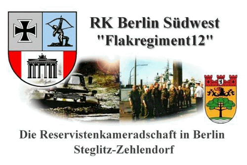 "Reservistenkameradschaft Berlin Südwest ""Flakregiment 12"""